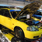 tuning Honda Civic SiR