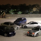 BMW M3,Mercedes E55 AMG,BMW X5,Lexus IS 300,Volkswagen Golf R32
