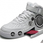 gangsta boombox sneakers