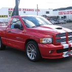 Dodge Ram SRT-10    Pick-up z sercem Vipera