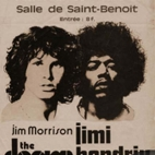 galeria Jimi Hendrix and Jim Morrison