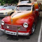 1954 Peugeot 203 Pick-up Tuning