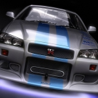nissan skyline front awesome