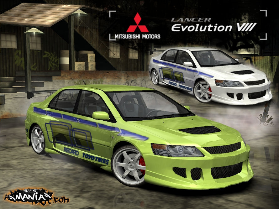 Need For Speed Most Wanted Mitsubishi Lancer Evolution X | NFSCars