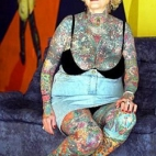 World's Most Tattooed Senior Lady