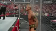 WWE RAW - John Cena vs Randy Orton - Gauntlet Match Hell in a Cell.