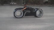 Tron Lightcycle Test Drive Parker Brothers Choppers TRON Legacy