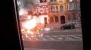 Car Explosion In Bruxelles