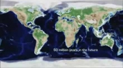 Change of Earth's Tectonic Plate in 650 Million Years