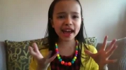 Adele-Set Fire To The Rain sung by 8 year old Anjeli Diack