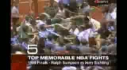 NBA Top 10 Fights