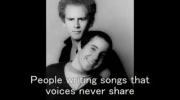 Paul Simon and Art Garfunkel - The Sounds of Silence Lyrics