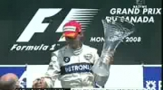 Robert Kubica First Win Podium w Montrealu 2008