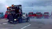 burnout scania