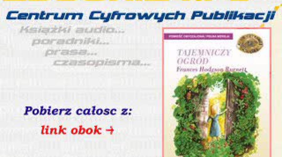 Tajemniczy Ogród Audiobook Patrzpl