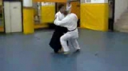 Aikido vs kickboxing,karate